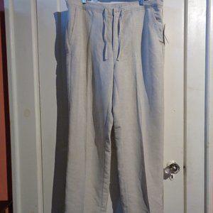 Cubavera Linen Pants Size XL *NWT*